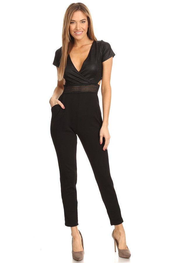 Amy Short Sleeve Jumpsuit