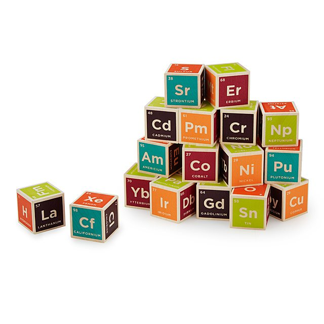 Learn & Build Blocks - Periodic Table