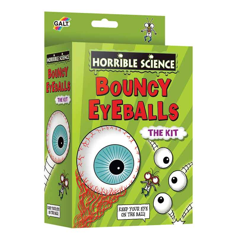 Horrible Science- Bouncy Eyeballs Kit