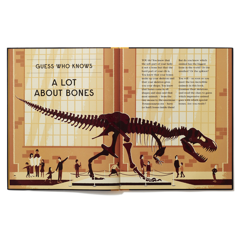 Educational - Book of Bones - 10 Record Breaking Animals
