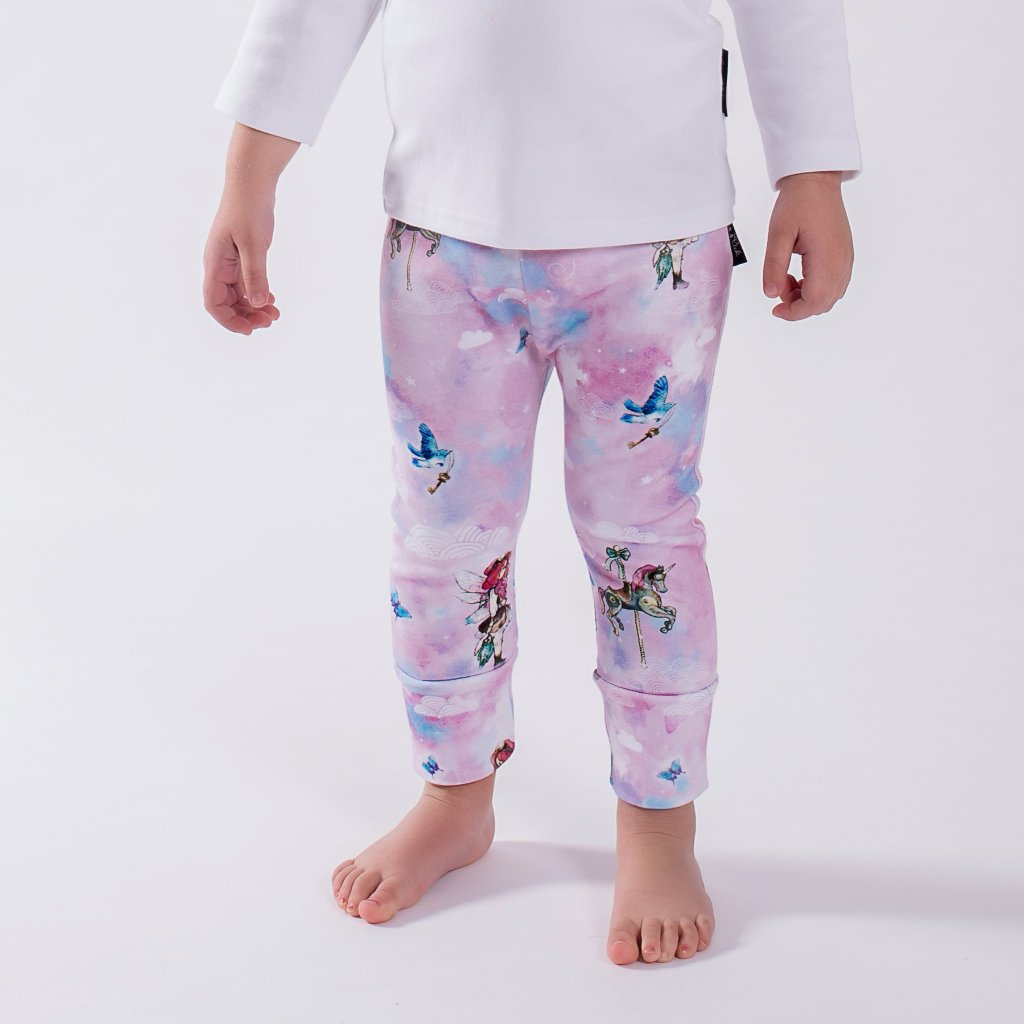 Unicorn & Fairy Leggings ORGANIC