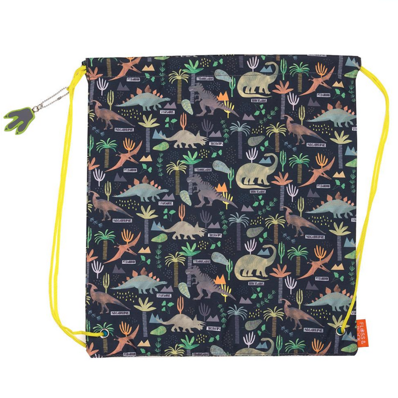 Dinosaur Jungle Library / Kit Bag