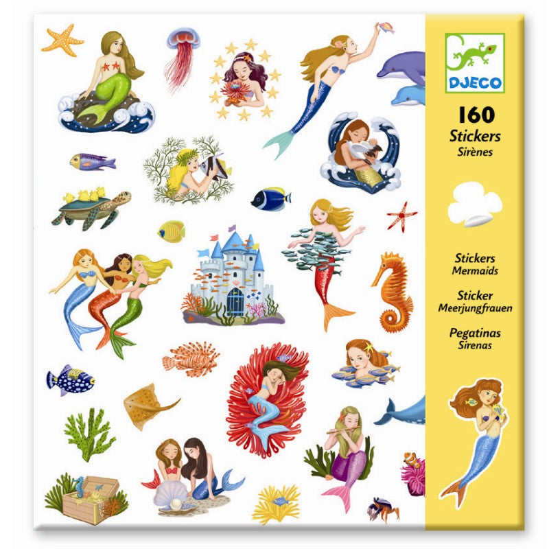 Sticker Fun- Mermaids! 160pk