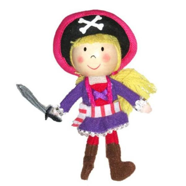 Finger Puppet - Pirate Girl