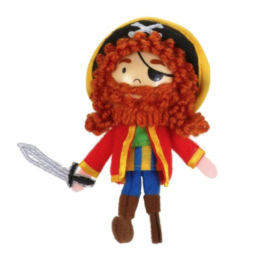 Finger Puppet - Pirate Long John Silver