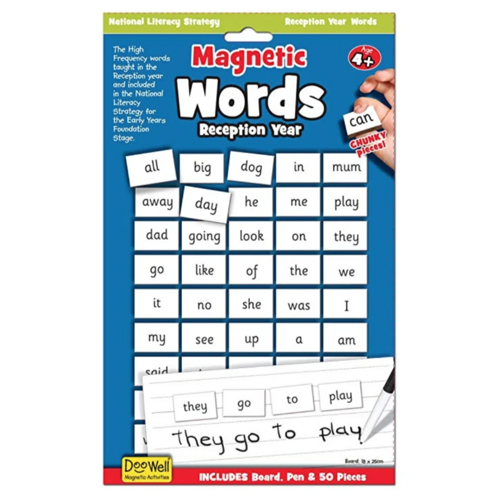 Magnetic Words - Reception/ Kindy Year -Ages 4+