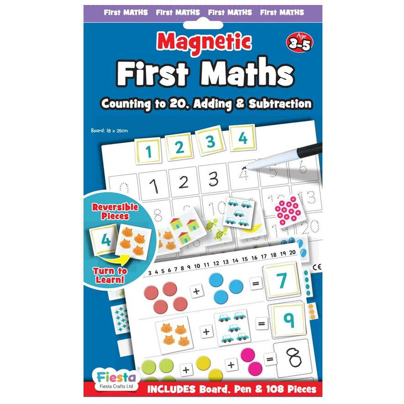 Magnetic First Maths - Ages 3-5