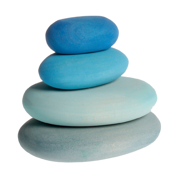 Grimms Stacking Pebbles (4 piece set)