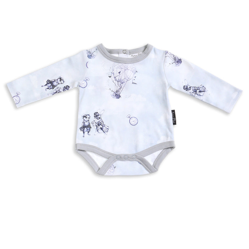 Air Balloon Long Sleeve Onesie ORGANIC