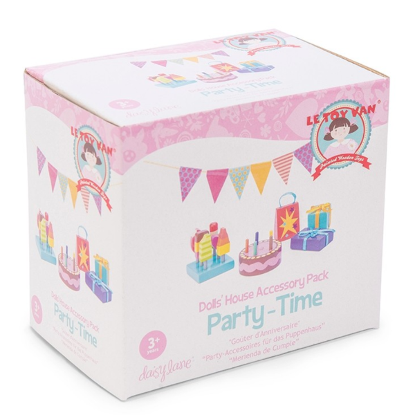Party Time! Doll House Accessories