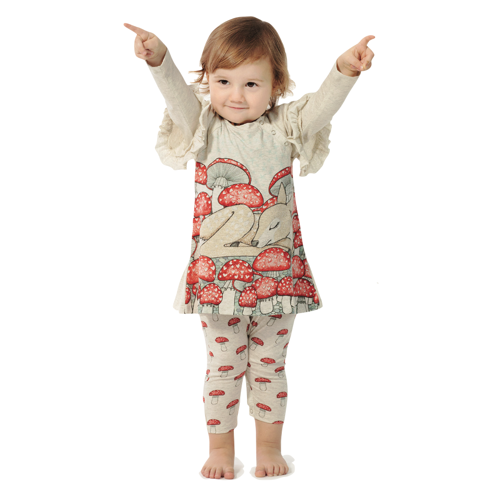 Little-Wings-Mushroom-Border-Organic-Romper-Baby