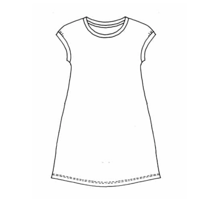 Paper Wings Summer Day-Night Tankdress ORGANIC Cotton