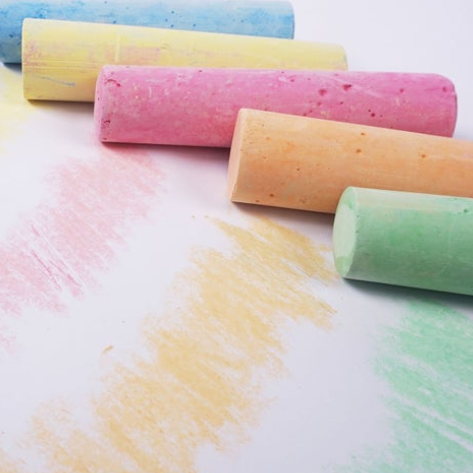 Large Sidewalk Chalk-10 piece Bucket