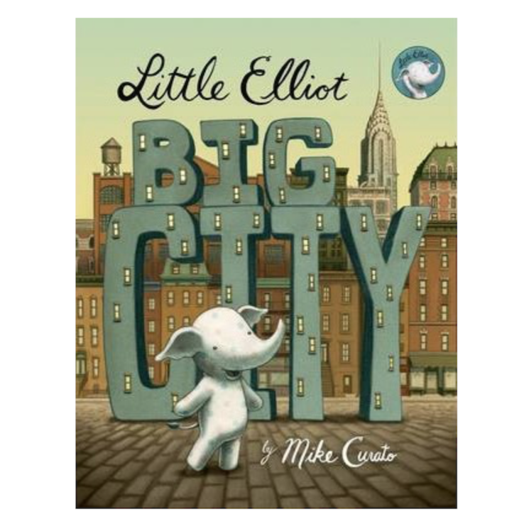 "Paperback Book - ""Little Elliot Big City"""