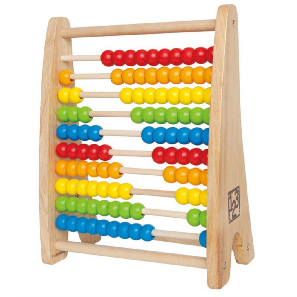 Wooden Rainbow Bead Abacus