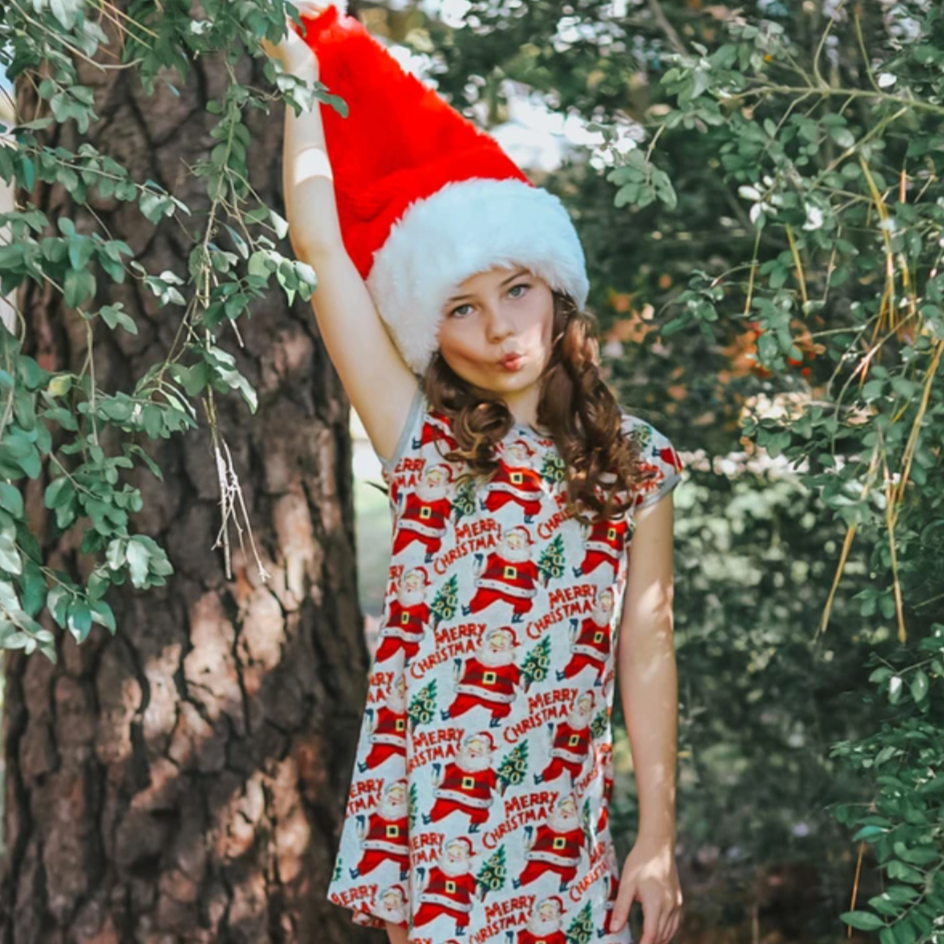 christmas 2020 dress nightie paper wings
