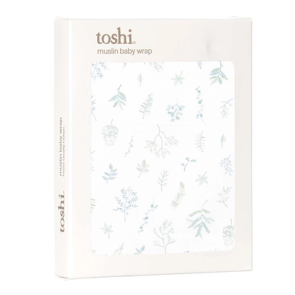 Toshi Wrap Muslin - Leaves