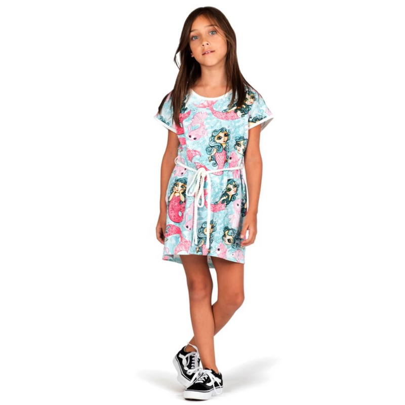 Paper Wings REBOOT! Mermaids Tee Dress