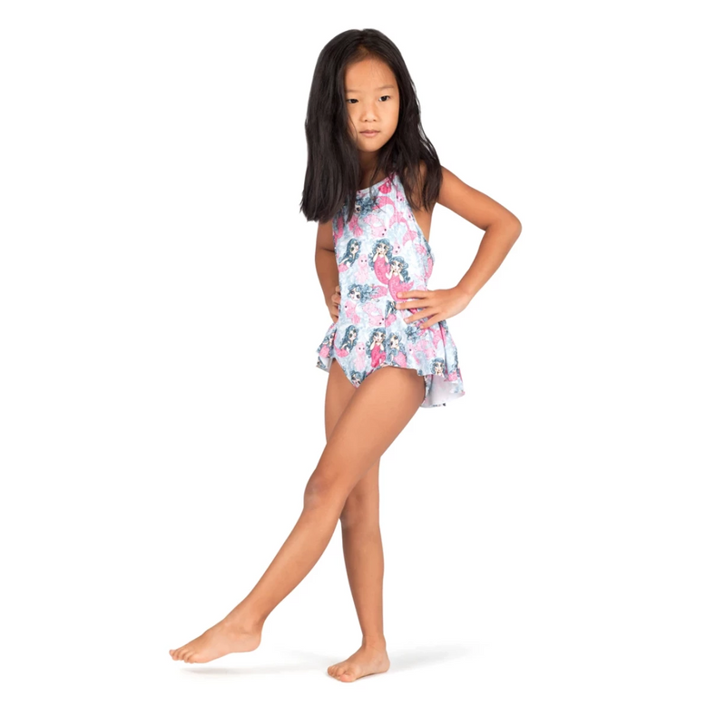 Paper Wings REBOOT! Mermaids Halter Swimsuit