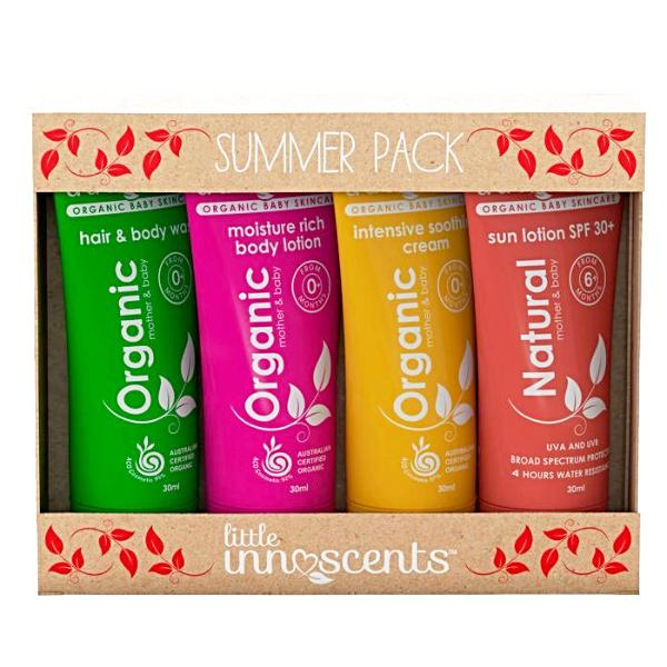 Little Innoscents Organic Baby Summer Travel Pack