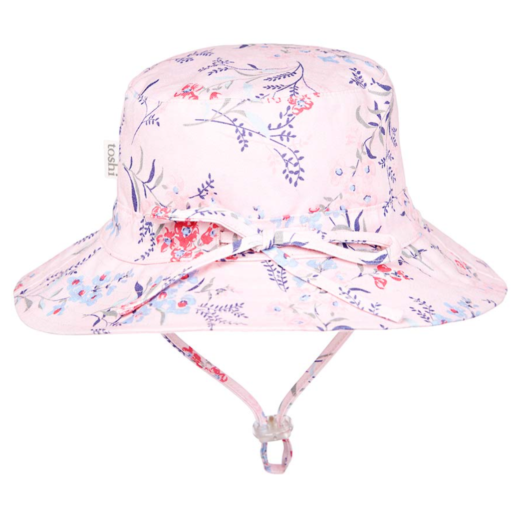 Toshi Sunhat - Botanical Honeysuckle