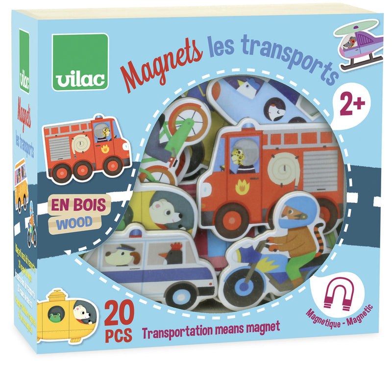 Vilac 20 piece Transport Magnets