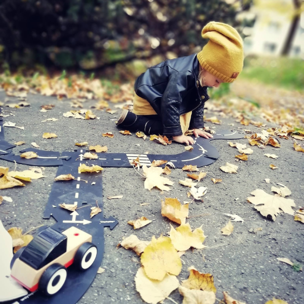 King Of The Road! Flexible Toy Road
