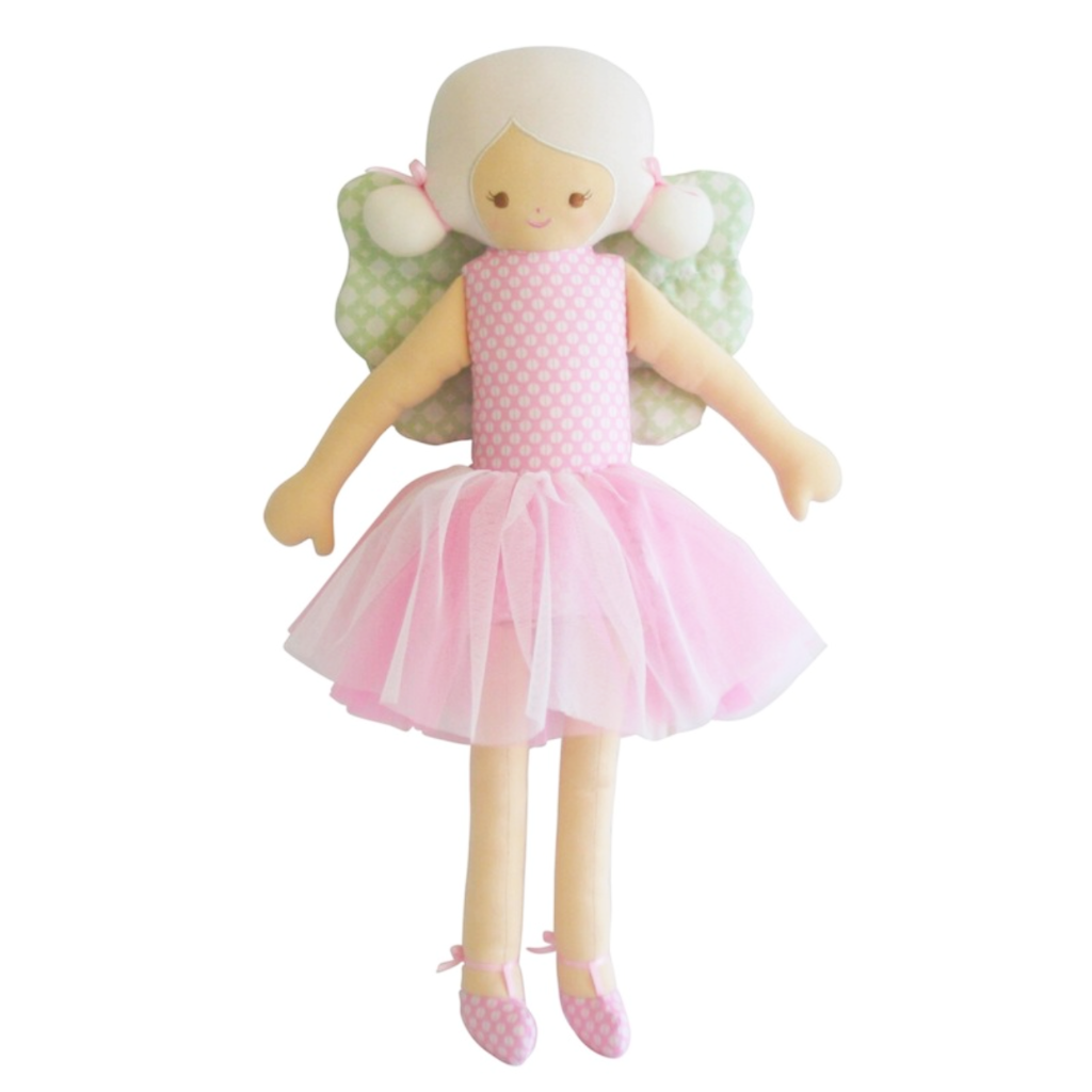 Mabel Fairy Doll Pink with Mint Wings 54cm
