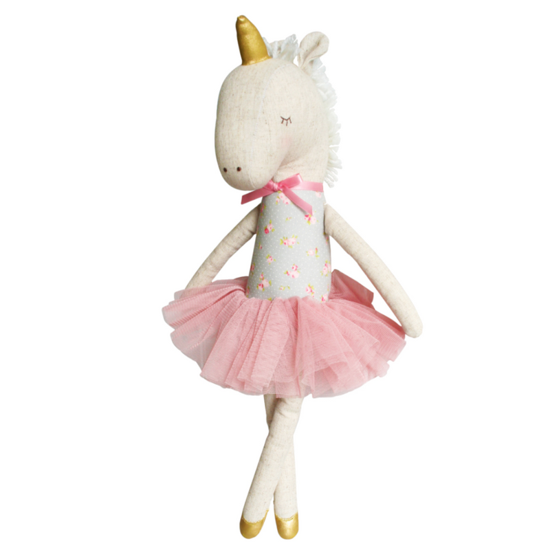 Unicorn Doll - Blush & Gold 43cm