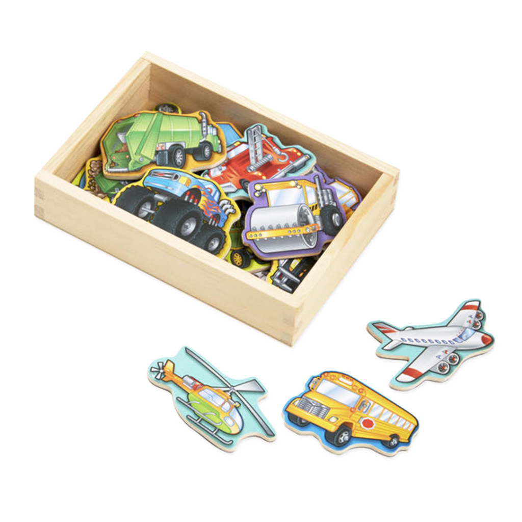 Magnets -  Vehicles 20 pack