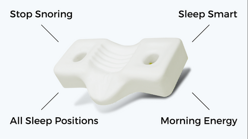 Sleep like a Baby Again! Stop Snoring, Boost Energy with Dual Plus Pillow