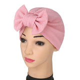 Spikerking Womens Soft Chemo Bow Sleep Cap&Headband Beanie Hat Turban for Cancer