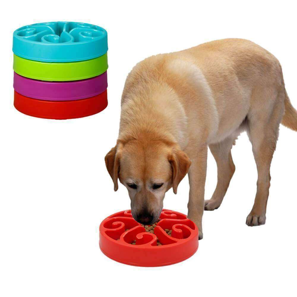 Flower Maze Slow Feeder Dog Bowl Bowl - iplayfetch.com