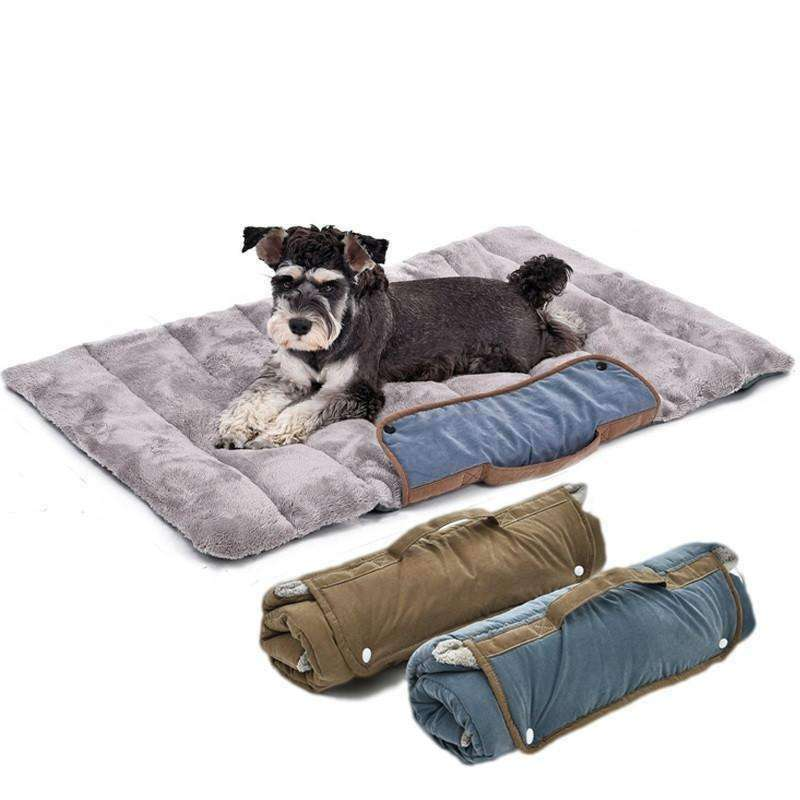 Travel Dog Bed >> Compact Roll Out Travel Dog Bed