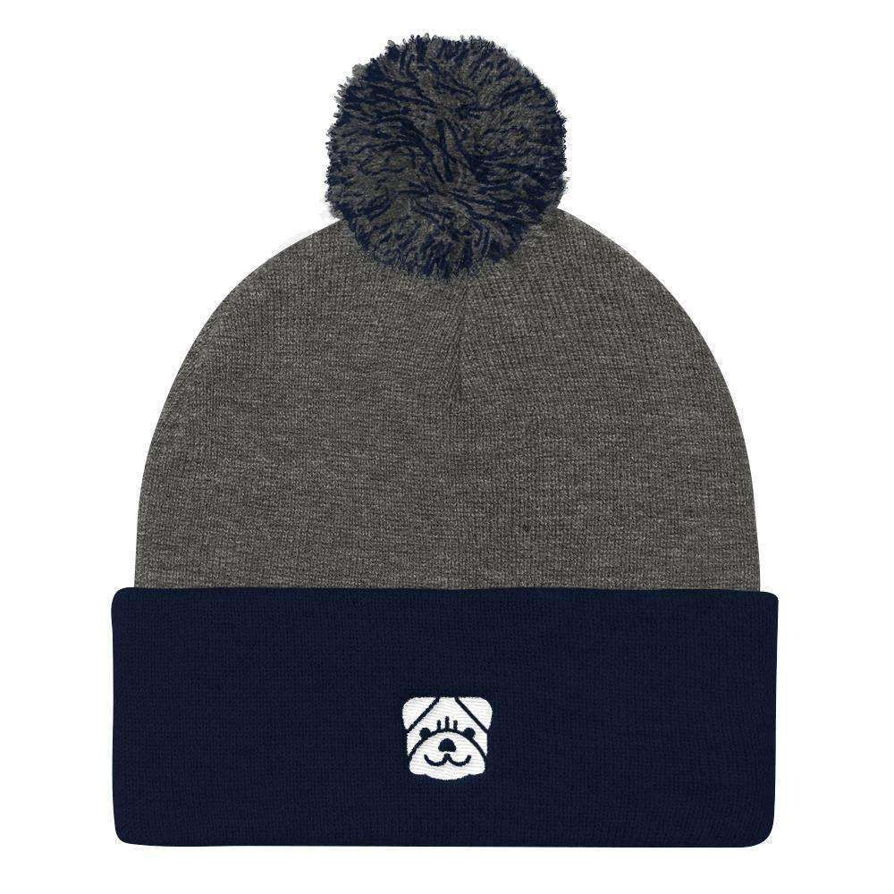 iPLAY FETCH! Pom Pom Knit Beanie Beanie - iplayfetch.com