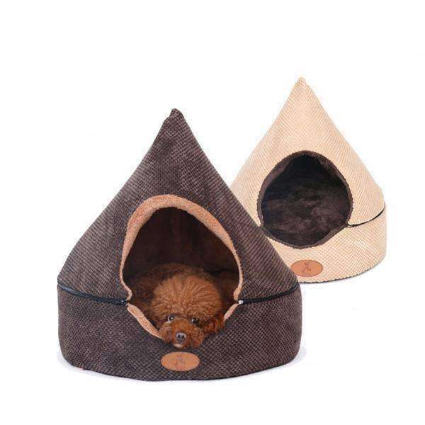 Convertible Tent Dog Bed (Small Breeds) Bed - iplayfetch.com