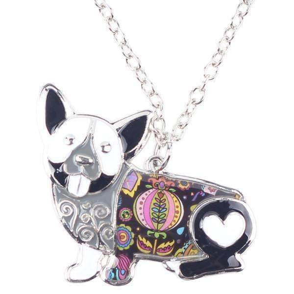 Corgi Rainbow Series Pendant Necklace Jewellery - iplayfetch.com