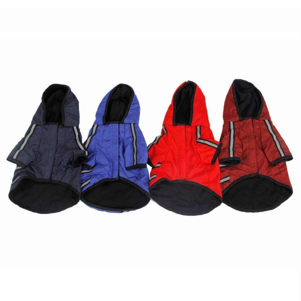 Reflective Waterproof Dog Rain Coat (Small Breeds) Rain coat - iplayfetch.com