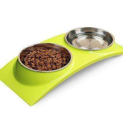 Assorted Vibrant Dog Bowls Bowl - iplayfetch.com