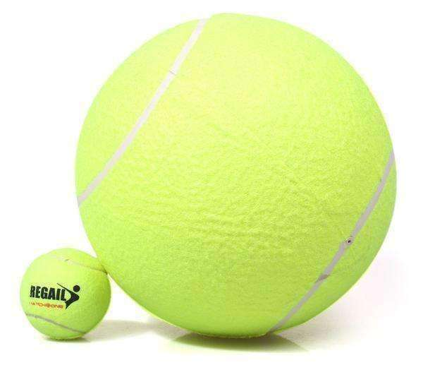 Giant Doggy Tennis Ball Ball - iplayfetch.com