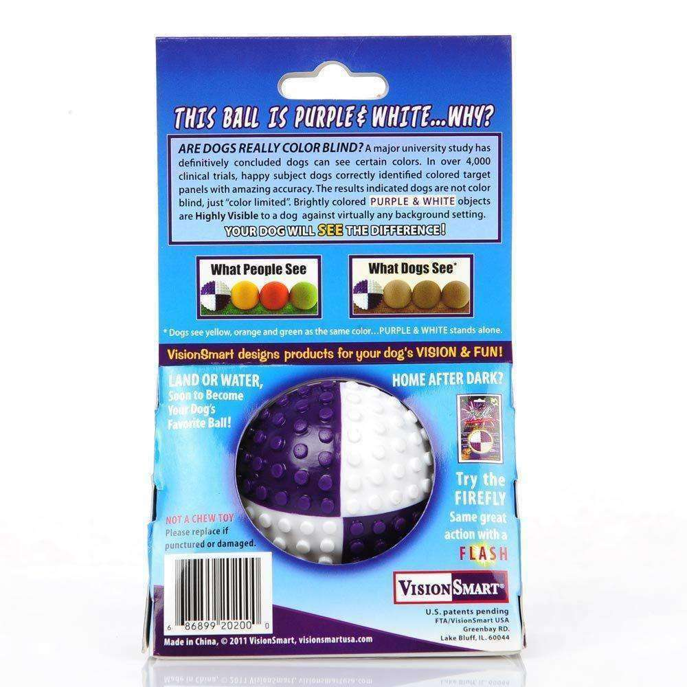 Visi-Ball High Contrast Ball Dog Toy Toy - iplayfetch.com