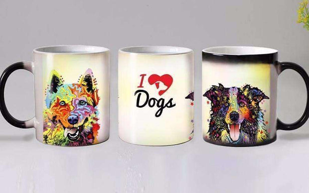 Dog Lover's Magic Mug (18 designs) Mug - iplayfetch.com