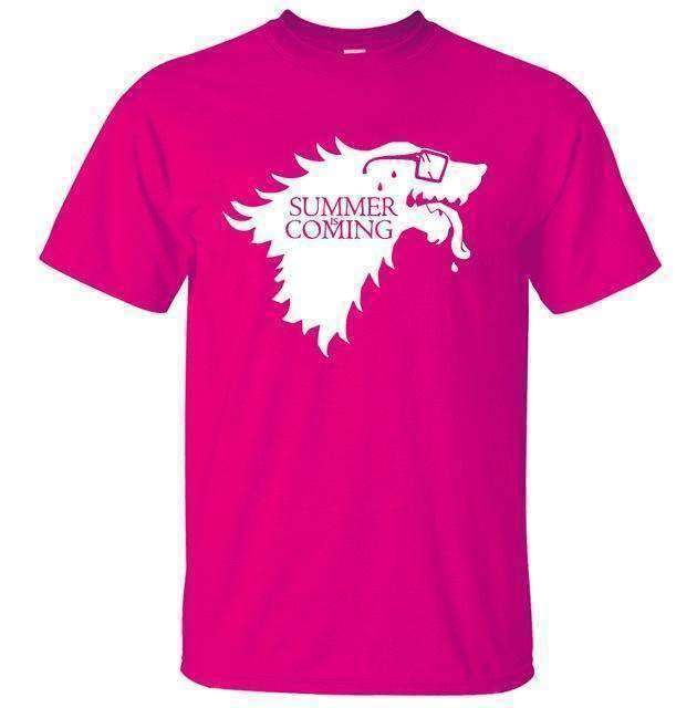 """Summer Is Coming"" Parody Game of Thrones T-Shirt Shirts - iplayfetch.com"
