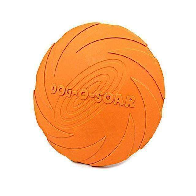 Dog-O-Soar Silicone Frisbee Toy - iplayfetch.com