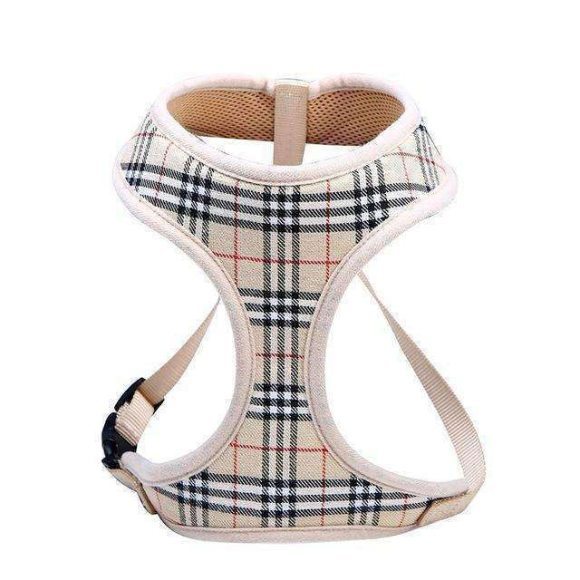 Classic Plaid Soft Mesh Dog Harness (puppy & smaller breeds) Harness - iplayfetch.com