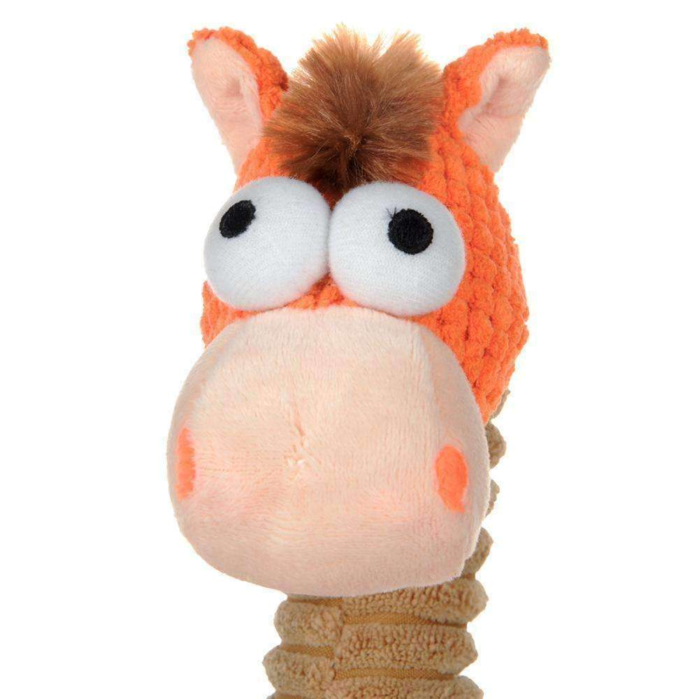 Silly Horse Knot Squeaker Dog Toy Toy - iplayfetch.com