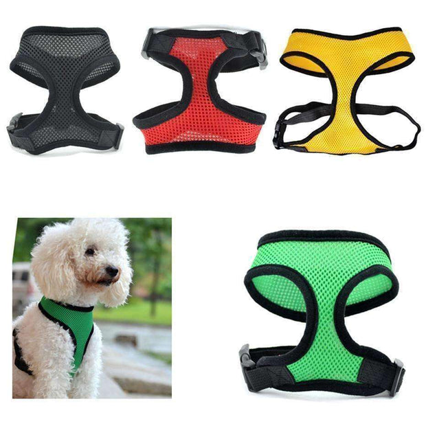 Soft Mesh Dog Harness (puppy & smaller breeds) Harness - iplayfetch.com