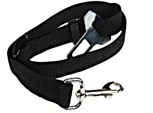 Black Dog Seat Belt