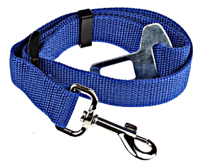 Blue Dog Seat Belt