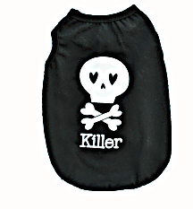 love killer dog vest